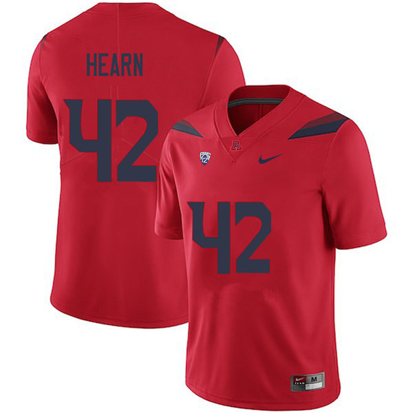Men #42 Azizi Hearn Arizona Wildcats College Football Jerseys Sale-Red