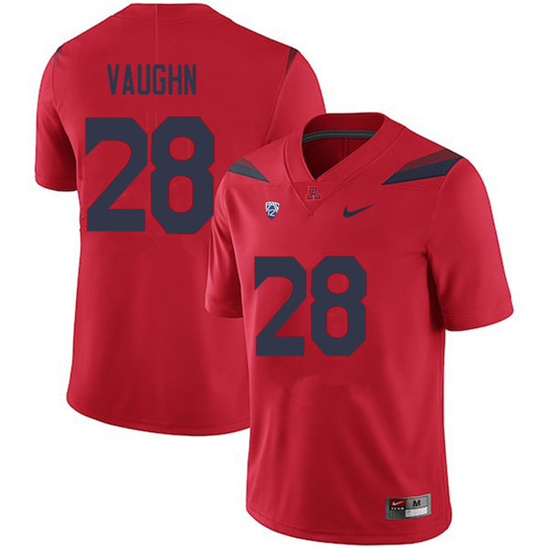Men #28 Carrington Vaughn Arizona Wildcats College Football Jerseys Sale-Red
