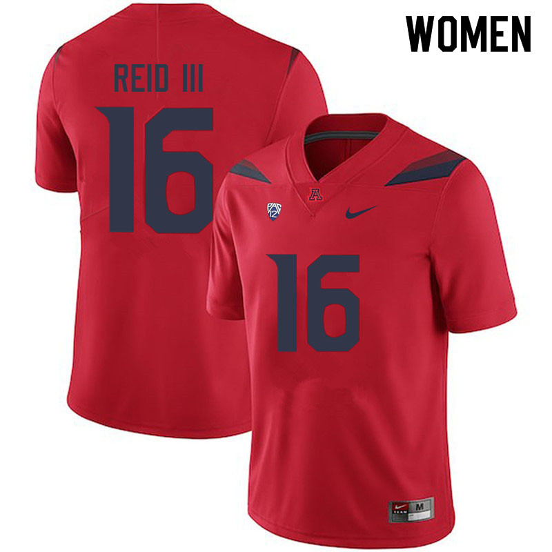 Women #16 Thomas Reid III Arizona Wildcats College Football Jerseys Sale-Red
