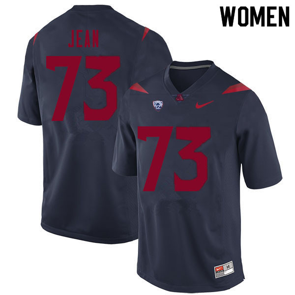 Women #73 Woody Jean Arizona Wildcats College Football Jerseys Sale-Navy