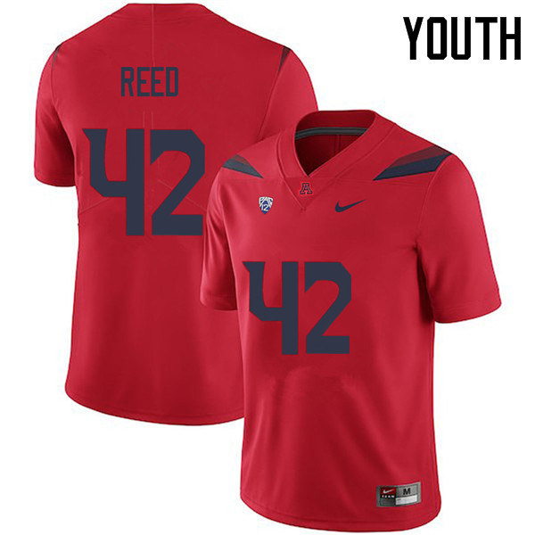 Youth #42 Brooks Reed Arizona Wildcats College Football Jerseys Sale-Red