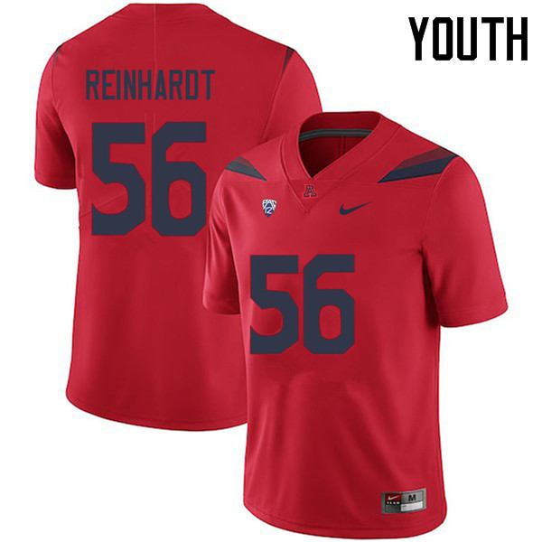 Youth #56 Nick Reinhardt Arizona Wildcats College Football Jerseys Sale-Red