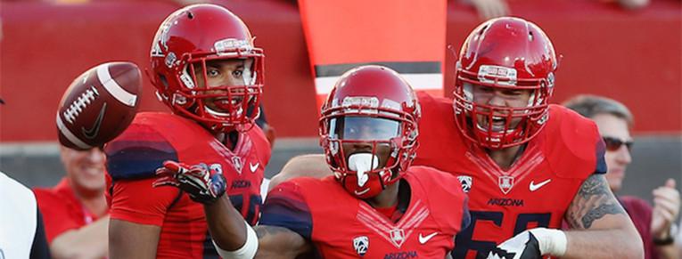 Cedric Peterson Arizona Wildcats Football Jersey - Red